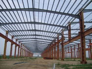 Prefabricated Logistic Structure Steel Warehouse H Beam Wind Resistance