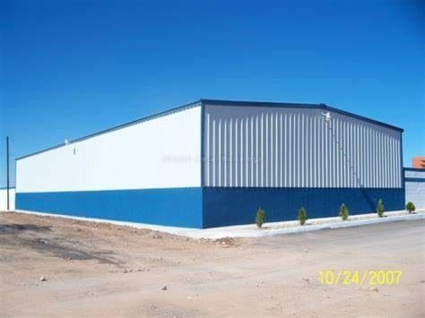 Light Steel Frame Building System With Single Wall Claddying And Roof Sheeting