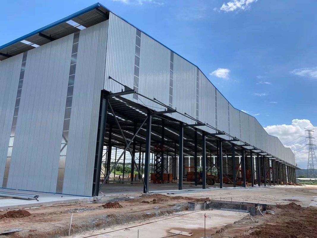 Steel Structures Warehouse And Building